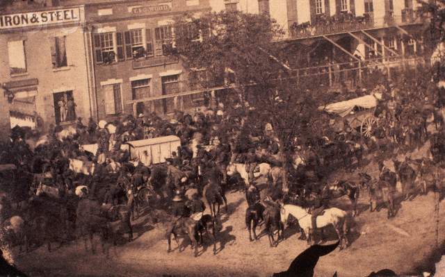 Transport of Jefferson Davis - IH157828 - Rights Managed - Stock Photo - Corbis