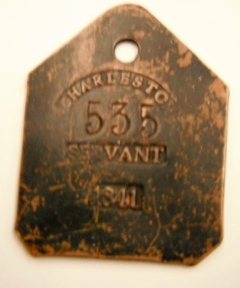 Art and Antiques: Dark history told through slave tags - News - Republican Herald
